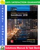 Thumbnail Computer Accounting With Quickbooks 2018 18th Edition Solutions Manual + Test Bank by Donna Kay