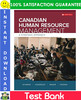 Thumbnail Canadian Human Resource Management: A Strategic Approach 12th Edition Test Bank by Schwind, Uggerslev, Wagar, Fassina