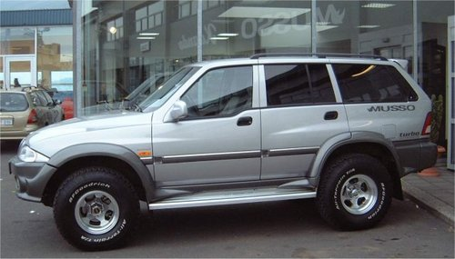 Ssangyong Musso 2000-2004 Service Repair Manual