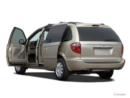 2006 town and country van manual