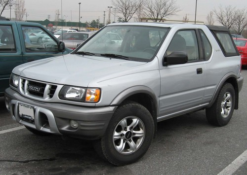2004 isuzu rodeo repair manual