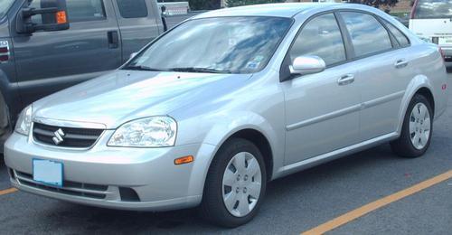 Suzuki Forenza 2008. SUZUKI FORENZA 2004-2008