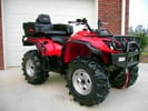 YAMAHA BIG BEAR 350 ATV  2WD & 4WD REPAIR MANUAL
