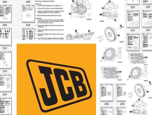 Pay for JCB JS130 JS160 Tracked Excavator Service Shop Repair Manual