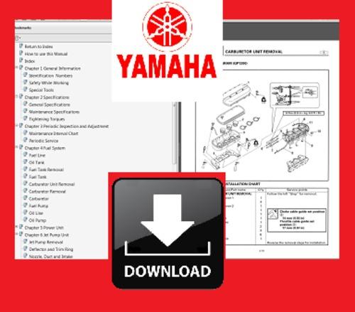 Pay for 1998 1999 2000 Yamaha GP800 WAVE RUNNER PWC Repair Service Professional Shop Manual DOWNLOAD