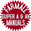 Thumbnail Farmall Super A, AV Parts Catalog TC-39 Tractor Manual IH