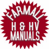 Thumbnail Farmall H, HV Parts Catalog TC-27 Manual IH Tractor