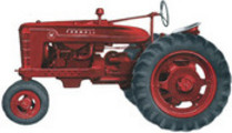 Thumbnail Farmall M, MV, MD, MDV Parts Catalog TC-28 Manual IH Tractor