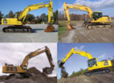 Thumbnail Komatsu Service PC300-6, PC300LC-6, PC350-6, PC350LC-6 Shop Manual Excavator Workshop Repair Book