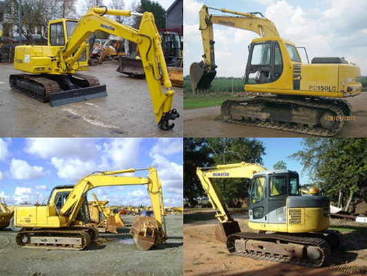 komatsu service pc150 6k shop manual excavator repair book downlo rh tradebit com