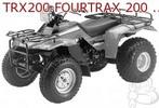 Thumbnail HONDA FOURTRAX 200 1984 FACTORY REPAIR MANUAL