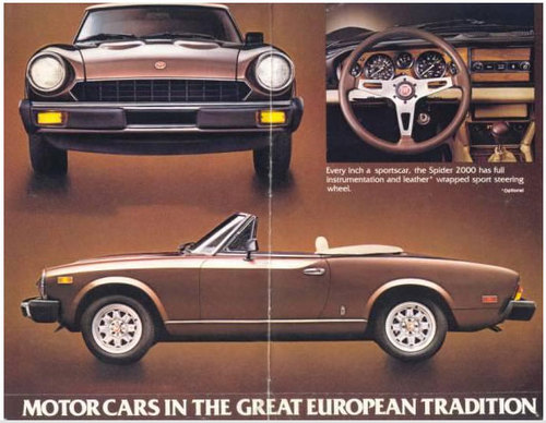 fiat 124 spider 1978 1982 service repair manual download manuals rh tradebit com 1975 Fiat Spider 1979 Fiat Spider