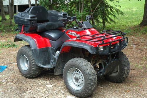 Honda 350 Quad. Honda Trx350 ATV Service