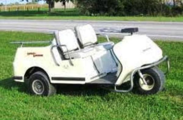 Harley Davidson 1981-1982 Golf Cart Repair Manual