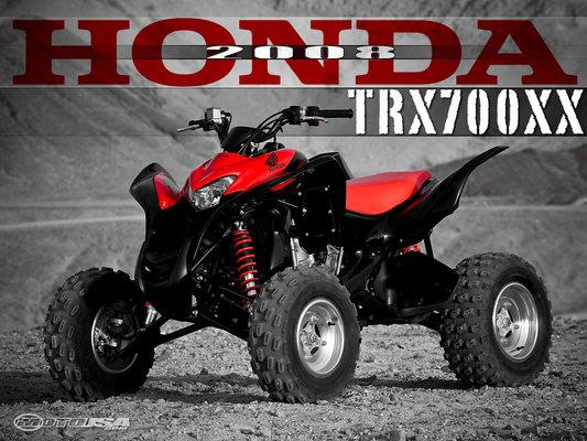 Honda Trx 700xx 2008 2009 Factory Repair Manual Download border=