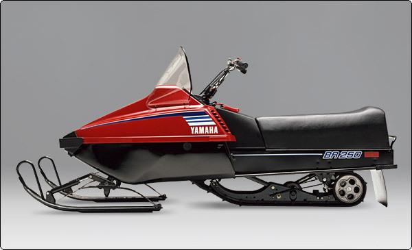 1980 Yamaha BR250 BRAVO Snowmobile FACTORY REPAIR - Download Manua...