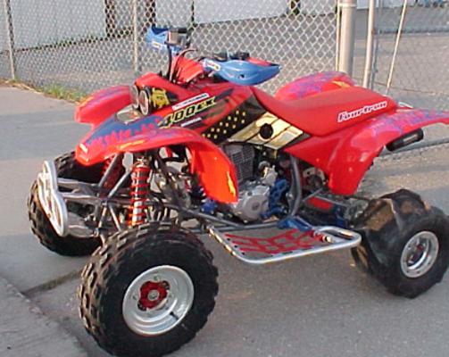 Honda 400ex Fourtrax 1999