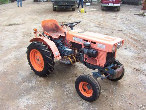 Kubota Tractor Repairs : Kubota tractor service manual b series workshop repair
