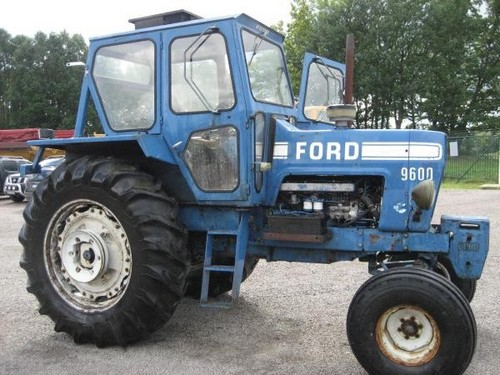 Ford 9600 Tractor : Ford tractor tw