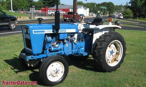 Ford Tractor 1000 1600 Factory Repair Manual