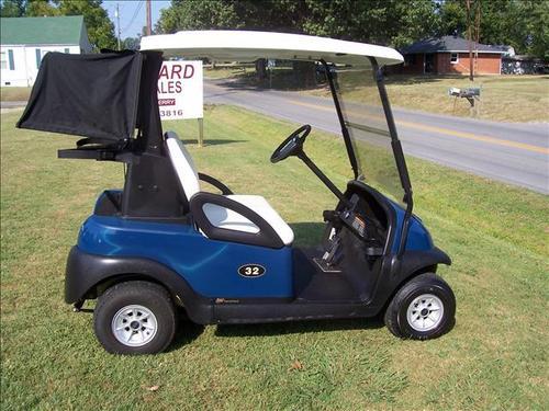 Club car precedent golf cart 2004 2011 service repair for Golf cart motor repair