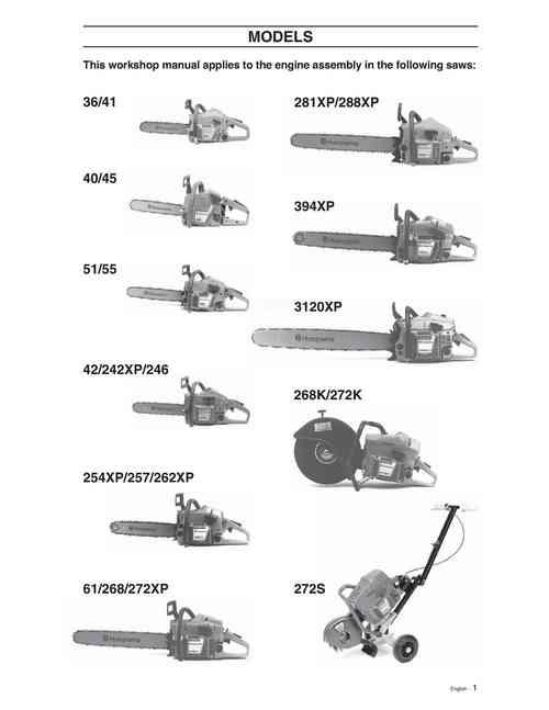 husqvarna chainsaw repair manual 36 40 41 42 45 51 55 242xp down rh tradebit com husqvarna 41 chainsaw parts manual husqvarna 36/41 chainsaw parts