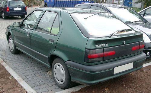 Pay for Renault 19 1993-2000 Workshop Repair Manual