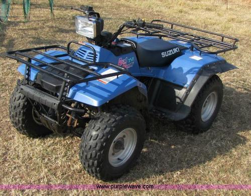 suzuki quad runner 250 1987 1998 repair service manual download m rh tradebit com 1999 Suzuki Quadrunner 250 4x4 1999 Suzuki Quadrunner 250 4x4