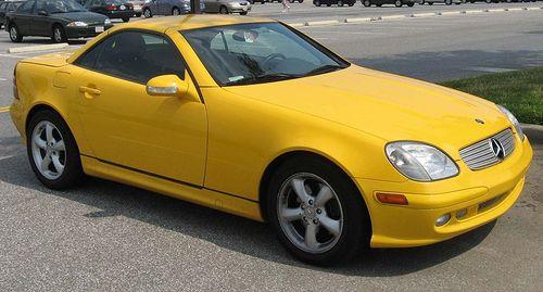 Mercedes Slk 1998-2004 Service Repair Manual