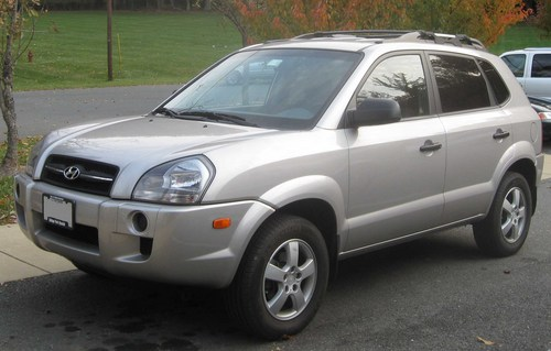 Hyundai Tucson 2008. HYUNDAI TUCSON 2004-2008