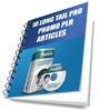 Thumbnail 12 Keyword Research PLR Articles For  Long Tail Pro