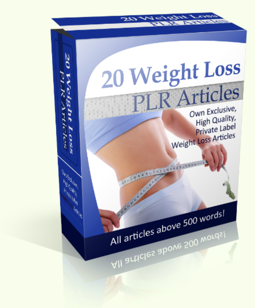 Pay for 20 Weight Loss PLR Articles
