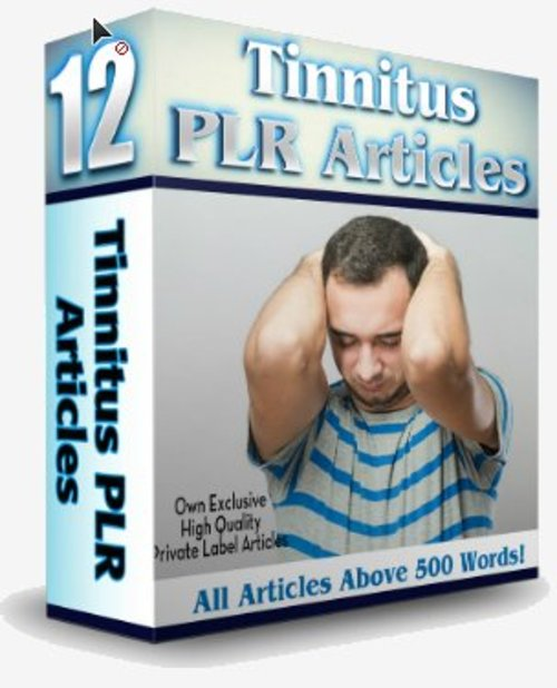 Pay for 12 Tinnitus PLR Articles - Vol. 2