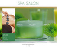 Thumbnail Spa Salon Website Template