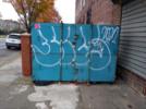 Thumbnail Pad-locked Graffiti Storage