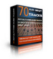 Thumbnail 70 Royalty Free Music Tracks Package (MRR)