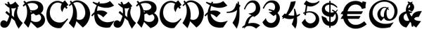 Mandarin Std Regular - font