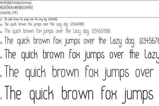 html  font