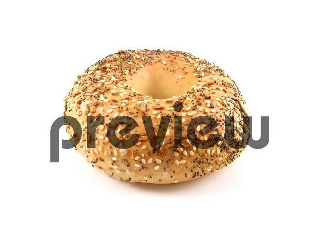 Pay for Bagel Stock Photo - Royalty Free Image