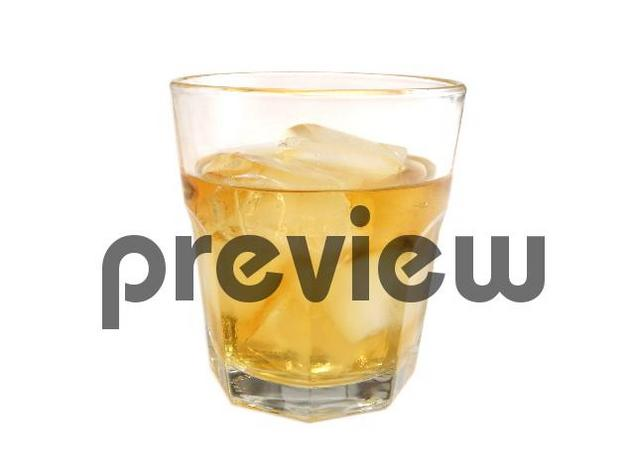 Pay for Whiskey on the Rocks Stock Photo - Royalty Free Image