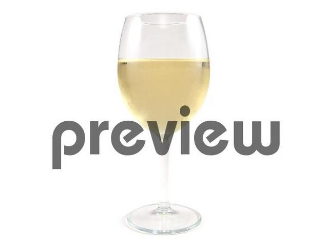 Pay for White Wine Glass Stock Photo - Royalty Free Image