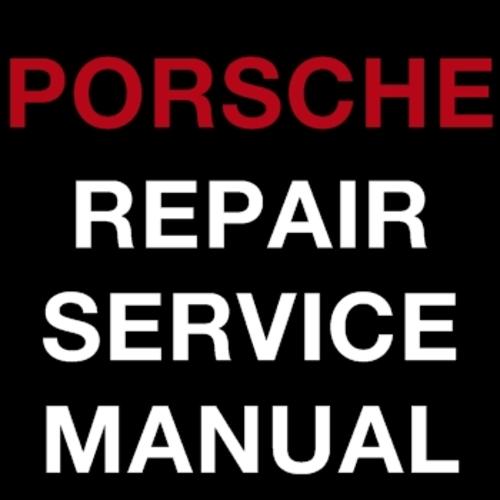 Pay for PORSCHE 911 1997-2005 FACTORY REPAIR SERVICE WORKSHOP MANUAL