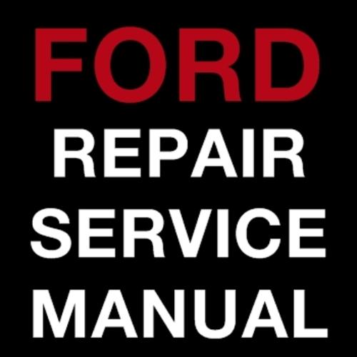 ford ranger factory service manual pdf