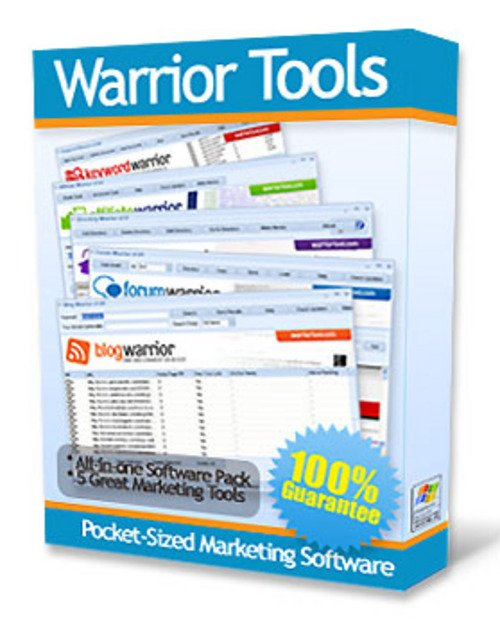 Pay for Warrior Tools Marketing Software