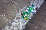 Thumbnail Plastic bottles in the stream