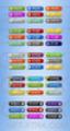 Thumbnail Clean, Modern Web Graphic Buttons PSD