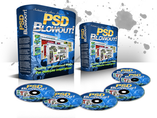 Pay for PSD Blowout - UNFLATTENED PSDs to 27 websites