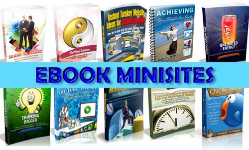 Pay for 100+ Ebook Minisites with Master Resale Rights - Save $100s