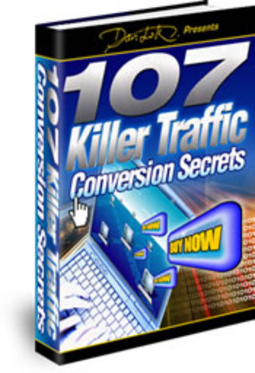 Pay for 107 Killer Traffic Conversion Secrets