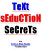 Thumbnail Text Seduction Secrets - Easily Seduce Women using only SMS